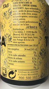ingredientes tonica